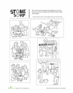 Unit 3 Week 1 The Real Story of Stone Soup Worksheets: Stone Soup Story