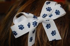 Hair bows are very popular!