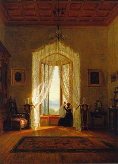 In the Swan's Shadow: A Window, House on the Hudson River, 1863