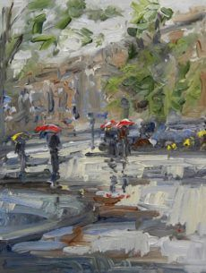 ARTFINDER: Let it rain (Amsterdam) by Sonja Brussen - Plein Air oil paintings by Sonja Brussen A Plein Air painting from Amsterdam. Framed in a white wooden box frame and comes ready to hang. This painting is. White Wooden Box, Rain Painting, Rain Art, Box Frames, Paintings For Sale, Impressionism, Amsterdam, Saatchi Art, Let It Be