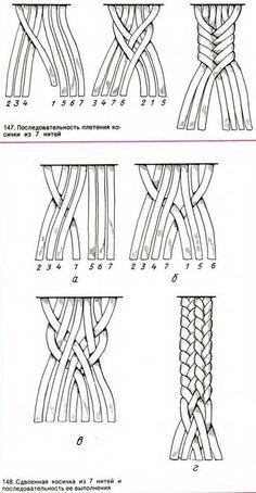Macrame Tutorial, Bracelet Tutorial, Knot Braid, Fishtail Braids, Plait, Rope Braid, Diy Braids, Macrame Projects, Crochet Projects