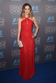 Actress Emily Blunt attends the 20th annual Critics' Choice Movie Awards at the Hollywood Palladium on January 15, 2015 in Los Angeles.