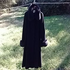 Stunning Cashmere, Angora Long Coat