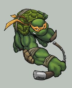 Colurs: Ninja Turtle by *wrightauk on deviantART