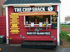 The Chip Shack in Charlottetown, PEI. Home of tasty apple fries, and awesome poutine cooked by the Queen of Fries. St Lawrence, Prince Edward Island, Green Gables, Canada Travel, Nova Scotia, Apple Fries, Trip Advisor, Road Trip, Chips