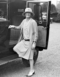 Coco Chanel. Año 1928