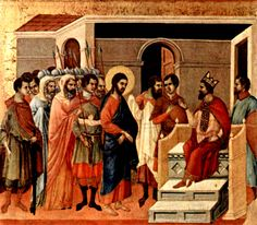 Jesus and King Herod in Jerusalem