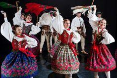 Polish regional folk costumes - Podhale region
