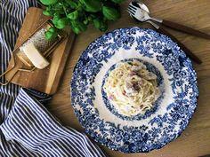 Kremet spaghetti Parma, Prosciutto, Chorizo, Spaghetti, Blog, Blogging, Noodle