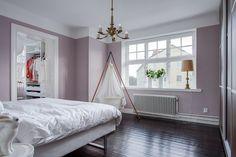 Wandfarbe rose und Flieder eignen sich gut für Schlafzimmer