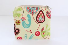 Small Pouch Coin Purse Cosmetic Bag Makeup Pouch by AgnesPurses