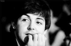 """PAUL McCARTNEY AND HIS """"SMILING EYES"""""""
