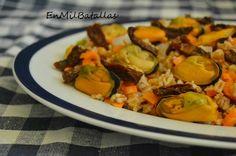 Ensalada de espelta y mejillones http://enmilbatallas.com/2015/06/05/ensalada-de-espelta-y-mejillones/