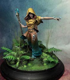 Morgana, sorceress of the forest by Robert Carllson (Rogland)