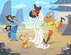 The Legend of Korra:  Deffs see this happening