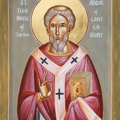 St Theodore of Tarsus Archbishop of Canterbury