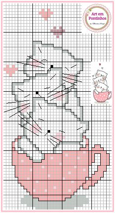 Good Images Cross Stitch cat Concepts Cross-stitch is a simple variety of needlework, like minded towards textiles offered to stitchers to Cat Cross Stitches, Cross Stitch Bookmarks, Cross Stitch Love, Cross Stitch Cards, Cross Stitch Animals, Cross Stitch Designs, Cross Stitching, Cross Stitch Embroidery, Embroidery Patterns