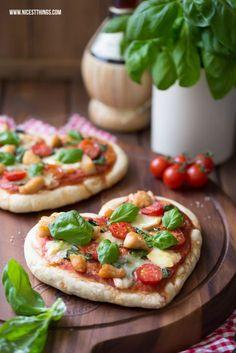 Pizza in Herzform backen