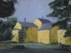 Original Painting of the Back of a Country Store on Chairish.com