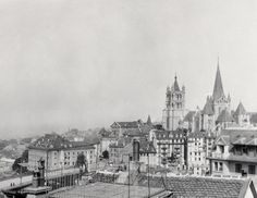 Lausanne, Montreux, Lucerne, Zurich, Bel Air, Vintage Posters, Switzerland, Paris Skyline, Photos
