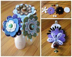 Kapcsolódó kép Paper Roses, Felt Crafts, Crochet Earrings, Crafts For Kids, How To Make, Handmade, Fun Stuff, Craft Ideas, Facebook