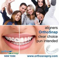 #OrthoSnap is as effective as traditional #braces | Manhattan and Brooklyn | 1.844.678.4676 | http://www.OrthoSnapNY.com