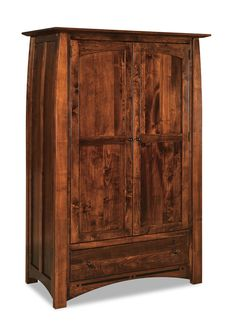 Boulder Creek Wardrobe Armoire :: Armoires :: Bedroom :: Shop By Area :: Amish Furniture Factory