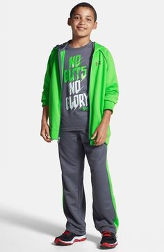 This bright green Under Armour zip jacket is going on the back-to-school list.