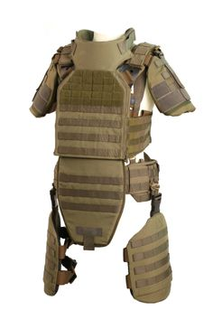 The Verseidag Ballistic Protection TACTICUM Plate Carrier