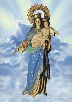 Fé,Esperanza,Caridad.: 24 DE MAYO MARÍA AUXILIADORA.Advocación de la Santísima Virgen. La Virgen de San Juan Bosco.Familia Salesiana.