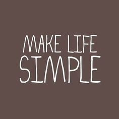 Make Life Simple Fabric Label by sweetwaterscrapbook on Etsy, $2.50