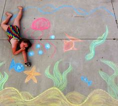 Summer Chalk Photo Ideas