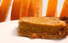 Jaglany sernik pomarańczowy - Szczęśliwi bez cukru