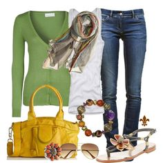 Colorful Accents, created by hatsgaloore on Polyvore