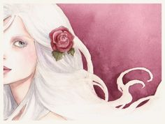The White Rose - Closeup by Achen089.deviantart.com on @deviantART