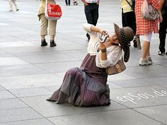 Beautiful Asian Woman Photographing