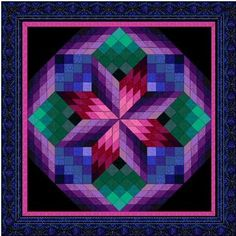 lone star quilt pattern | Free Star Quilt Patterns – Lone Star Quilt & more: