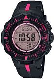 Casio Mens Pro Trek Triple Sensor Ver. 3 Watch PRG-300-1A4 (PRG3001A4) - Watch Centre // #FreeShipping #Australia #Mountaineering #MountainClimbing #Outdoors #GiftIdeas #Watches #ProTrek #Casio  #Pink //