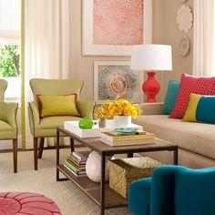 Salon Ne Renk Olmalı? | Yapı Dekorasyon 360