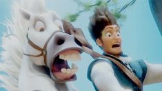 Definitive Proof That Horses Are Actually Man's Best Friend -- Maximus and Flynn Rider (Tangled) Tangled Flynn, Disney Tangled, Disney Magic, Disney And Dreamworks, Disney Pixar, Cliff Jump, Wife Quotes, Friend Quotes, Quotes Quotes