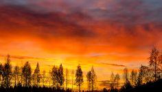 Finland/Helsinki Sunrise in November by morfoosi, via 500px