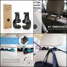 Automobiles & Motorcycles Interior Accessories Constructive 2 Pcs Universal Portable Car Seat Hanger Purse Bag Organizer Holder Hook Headrest