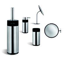 Accesorios de baño COSMIC en ARCON. #escobillero #espejo #arcon
