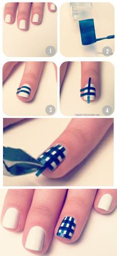 nail.  Ahhh that's another way of doing this!