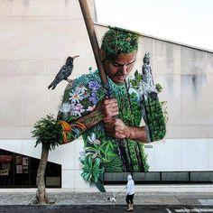 #drawing #zeichnen #illustration #kunst #arte #howtodraw #drawingideas #painting #faces #sketch #dibujo #dessin #disegno #draw #bleistift #howtodraw #drawingideas #faces #sketch #dibujo #dessin #disegno #draw #bleistift #skizze #streetart #street #urbanart #spray #graffiti  By Sabotaje al montaje - Located in La Palma, Spain