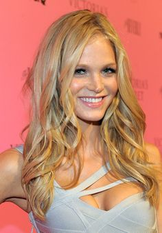 Erin Heatherton Long Curls - Erin Heatherton Looks - StyleBistro