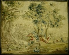 Antique French Wall Tapestry