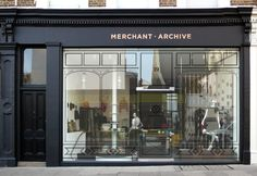 Logo & rebranding for Merchant Archive, an independent lifestyle store  which specializes in beautiful vintage & contemporary clothing & accessories.