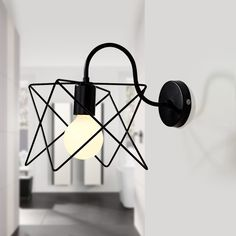 Find More Wall Lamps Information about Modern Wall Lamp Iron sconce bathroom light for bedroom bathroom Light Fixture murale luminaire Vintage loft wall lighting,High Quality sconce bathroom lighting,China iron sconce Suppliers, Cheap bathroom light from Zhongshan East Shine Lighting on Aliexpress.com