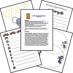 Mouse and the motorcycle novel study, can use some of these ideas Reading Intervention, Reading Skills, Teaching Reading, Teaching Ideas, Student Teaching, Teaching Resources, Learning, Kids Book Club, Book Club Books
